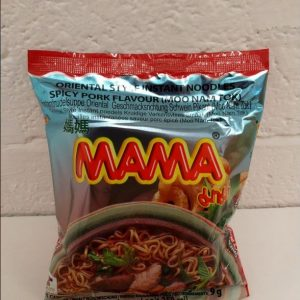Mama Spicy Pork Flavour Noodles,Moo Nam tok