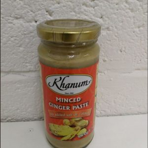 Khanum Minced Ginger Paste,No Added Salt or Colour...