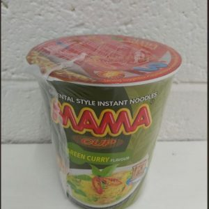 Mama Cup Green Curry Flavour Noodles