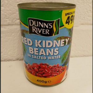 Red Kidney Beans in Salted Water