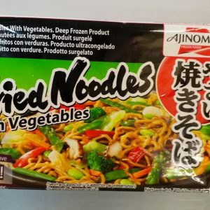Fried Noodles with Vegetables,Ajinomoto,Microvable...