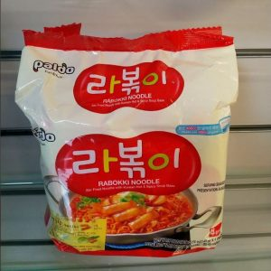 Paldo Rabokki Noodles, 4 Packs Inside,Product of K...